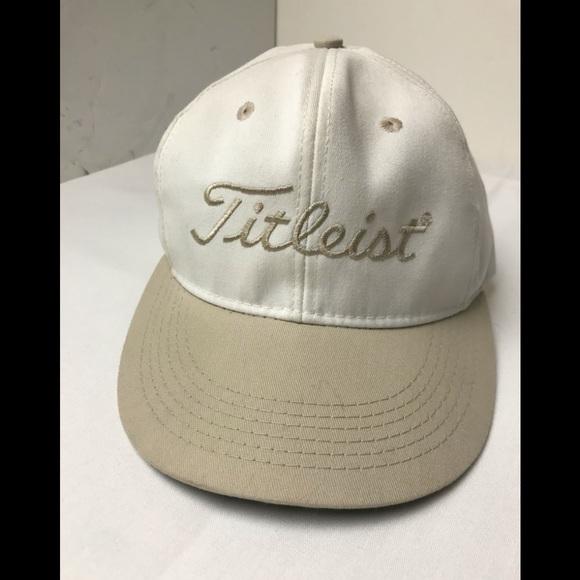 TITLEIST Golf Hat By Merkley Made In Canada One Sz
